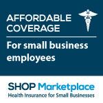 SHOP affordable coverage badge