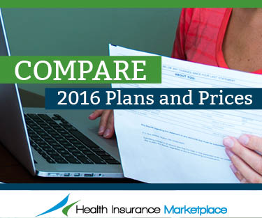 Compare 2016 plans & prices for Obamacare