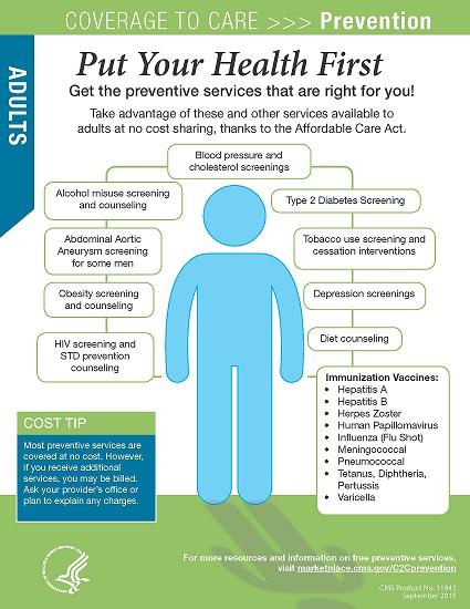 C2C Preventive Services poster